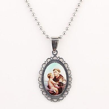 Персональный подарок Ожерелья Нержавеющая сталь Универсальные Подарок