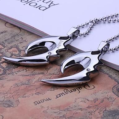 Персональный подарок Ожерелья Нержавеющая сталь Муж. Деловые Классика Праздник Подарок