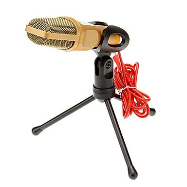 3.5mm Microfon Cablat Microfon Cu Clip-on Pentru Microfon de Karaoke