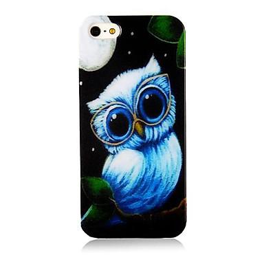IPhone4/4S için güzel Nightingale Desenli Silikon Kılıf