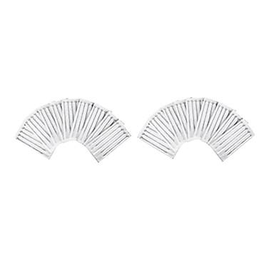 50 adet boyutu 5 düz gölgeleme (f) dövme iğneler sterilize