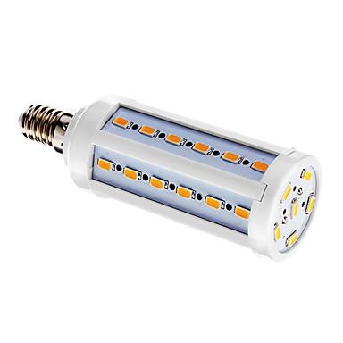 BRELONG® 1pc 10 W 800 lm E14 LED Mısır Işıklar T 42 LED Boncuklar SMD 5730 Sıcak Beyaz 220-240 V