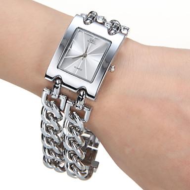 Pentru femei Piața de ceas Quartz Argint Argintiu