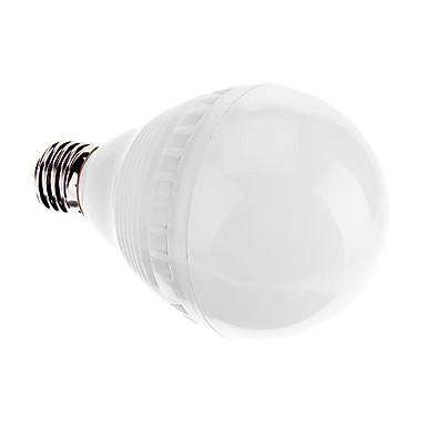 600-650 lm E26/E27 LED Küre Ampuller A80 27 led SMD 2835 Dekorotif Serin Beyaz AC 220-240V