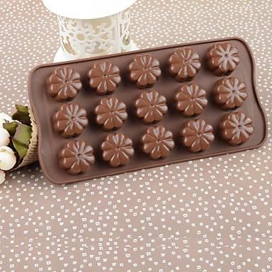 Bakeware araçları Silikon Çevre-dostu / Kendin-Yap Kek / Tart / Çikolota Pişirme Kalıp