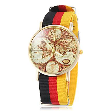 Bayanların Moda Saat Bilek Saati Quartz Bant Çok-Renkli