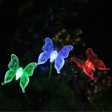 Bahçe Işıklar LED'ler LED Şarj Edilebilir / Dekorotif 1pc