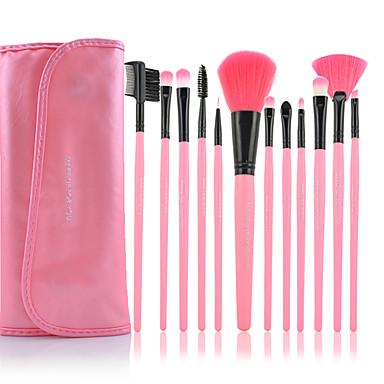12pcs Makyaj fırçaları Profesyonel Fırça Setleri Naylon Fırça / Sentetik Saç / Suni Fibre Fırça Bakterileri Kısıtlar Orta Fırça