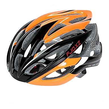 FJQXZ Bisiklet kaskı 26 Delikler Bisiklet Half Shell Sporlar PC EPS Yol Bisikletçiliği Bisiklete biniciliği / Bisiklet