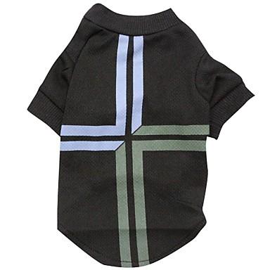 Katze / Hund T-shirt Hundekleidung Nationalflagge Schwarz Terylen Kostüm Für Haustiere