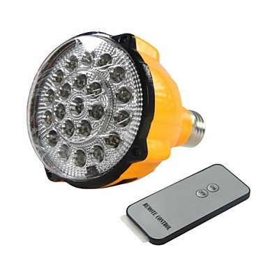E27 4W LED alb bec reîncărcabilă Lumina de urgență lanterna proiector cu control de la distanță