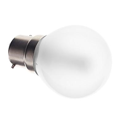 2.5W 90-100 lm B22 LED Küre Ampuller G45 25 led SMD 3014 Dekorotif Sıcak Beyaz AC 220-240V