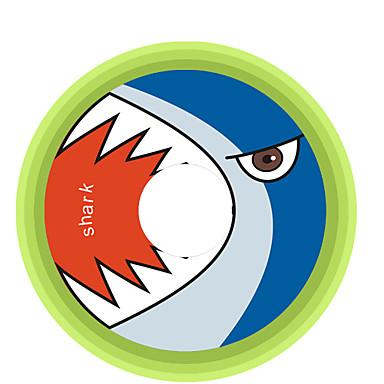 Köpekbalığı Desen Dekoratif Araç plakası