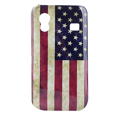 For Samsung Galaxy Case Pattern Case Back Cover Case Flag PC Samsung Ace
