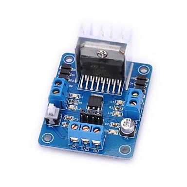 step motor için diy d108057 l298n motor sürücü denetleyici kurulu modülü