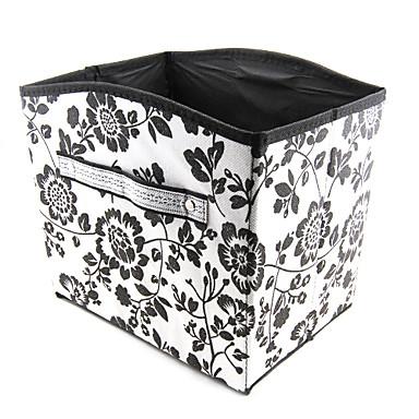 çiçek deseni dışbükey tip saklama kutusu