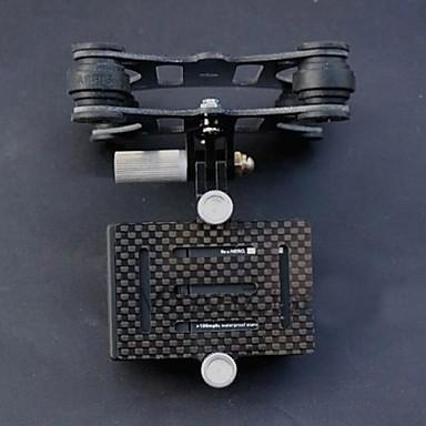 DJI Phantom углеродного волокна Антивибрационная 4 оси FPV Gimbal для GoPro 3