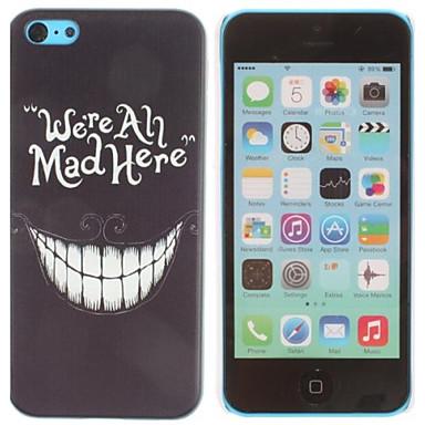Pouzdro Uyumluluk iPhone 5C Apple Arka Kapak Sert PC için iPhone 5c