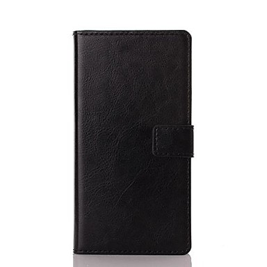 Tam Kaplama Kılıf cüzdan / Standı ile Jednolity kolor PU Deri Sert Case Kapak İçin SonySony Xperia X Performance / Sony Xperia X / Sony