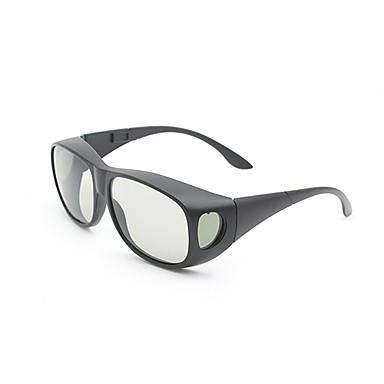 m&polarize ışık desenli geciktirici sinema 3d tv için 3d gözlük kalınlaştırmak k