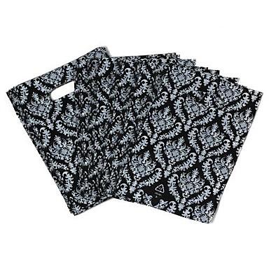 Простой шаблон дизайна Черное Пламя Кольцо окружающей мешок (45pcs)