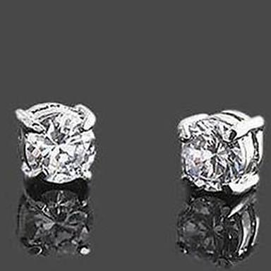 Κλασικό Rhinestone Magnet Cilp Σκουλαρίκια Ανδρικά