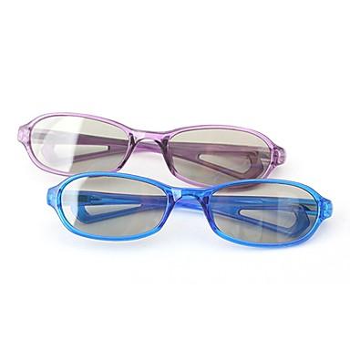 m&reald IMAX sineması için k polarize ışık desenli geciktirici pasif childern 3d gözlük (4 adet)