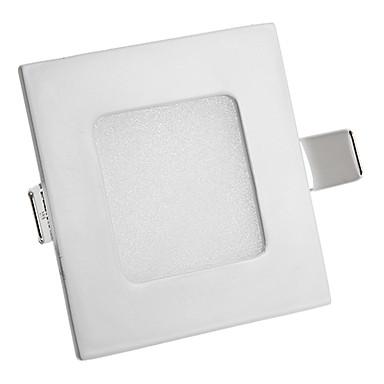 3W 260LM 3000-3500K Sıcak Beyaz LED panel ışıkları (AC 85-265V)