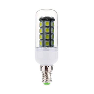 E14 Becuri LED Corn Spot Încastrat 36 led-uri SMD 5050 Decorativ Alb Rece 450lm 6000-6500K AC 220-240V
