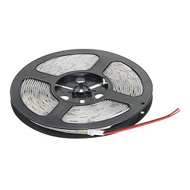 Su geçirmez 5M 60W 60x5730SMD 7000-8000LM 3000-3500K Sıcak Beyaz LED ışık Şerit Işık (DC12V)