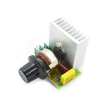 3800W elektronik voltaj regülatörü karartma kısa huzmeli farlar hız kontrol termostat scr