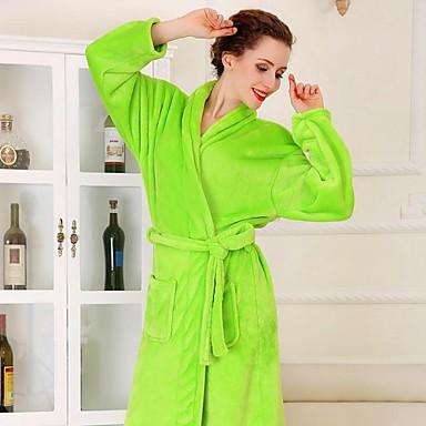 bornoz, yüksek sınıf meyve yeşil giysi bornoz kalınlaştırmak