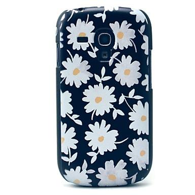 Için Samsung Galaxy Kılıf Temalı Pouzdro Arka Kılıf Pouzdro Çiçek PC Samsung S3 Mini