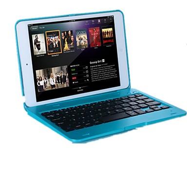 Pouzdro Uyumluluk iPad Mini 3/2/1 Satandlı Klavyeli Flip Tam Kaplama Kılıf Solid Sert PC için