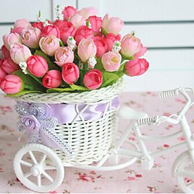 Flori artificiale 1 ramură Stil modern Trandafiri Față de masă flori