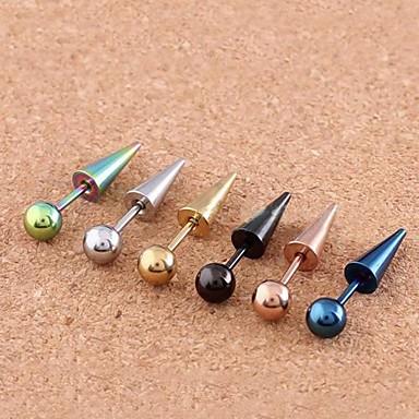 رخيصةأون مجوهرات الجسم-نسائي مجوهرات الجسم Ørepiercing الفولاذ المقاوم للصدأ مجوهرات من أجل مناسب للبس اليومي / فضفاض 1.2*0.2*0.1 cm الصيف