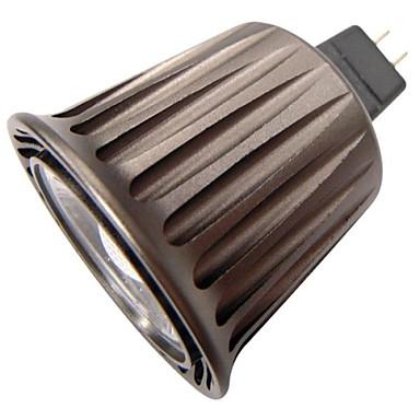GU5.3(MR16) Lâmpadas de Foco de LED MR16 1 COB 380 lm Branco Frio 6000 K Decorativa DC 12 AC 12 V