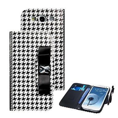 caz elonbo Plover portofel din piele înveliș de design caz corp plin pentru i9300 Samsung Galaxy S3