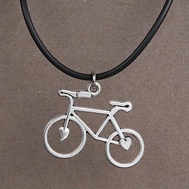 moda paslanmaz çelik bisiklet kolye
