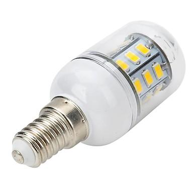 300-400 lm E14 LED Spot Işıkları LED Mısır Işıklar LED Küre Ampuller T 27 led SMD 5730 Sıcak Beyaz AC 220-240V