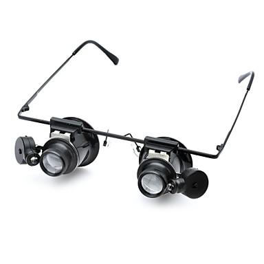 Mikroskoplar / Büyüteçler / Büyütücü Bardakları profesyonel Seviye / LED Işıklı Lensler / Klasik Cam / ABS Klasik Çocuklar Genç Erkek Hediye
