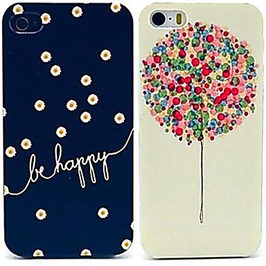 fi fericit&cazuri model balon pentru iPhone 5 / 5s (2-Pack)