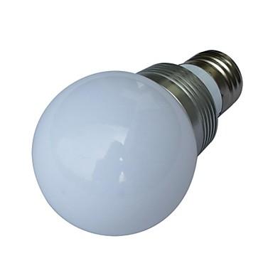 E26/E27 Lâmpada Redonda LED 1 leds LED de Alta Potência RGB RGB