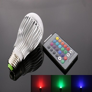 E26/E27 LED-spotlampen A50 9 Krachtige LED 950 lm RGB K Op afstand bedienbaar AC 85-265 V