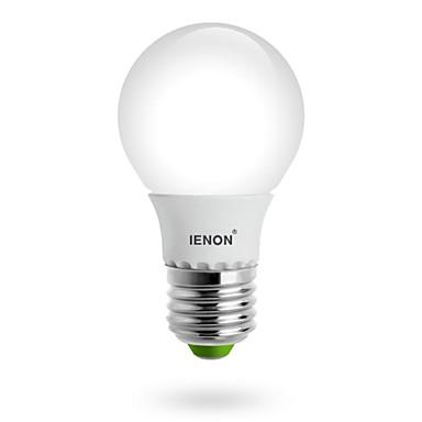 E26/E27 Bulb LED Glob G60 led-uri SMD Alb Cald 400-450lm 3000K AC 100-240V