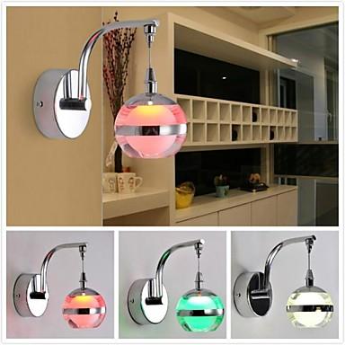 Duvar ışığı Duvar lambaları 90-240V Birleştirilmiş LED Modern/Çağdaş