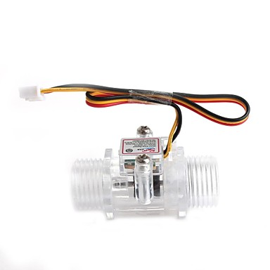 yuanbotong YF-s201c 1/2 inç su akış sensörü - şeffaf