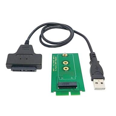 Mikro sata kadın 16pin USB 2.0 erkek 1.8