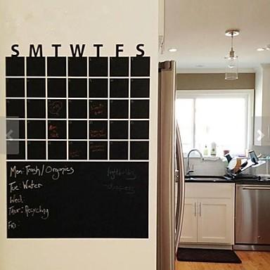 Tablă de scris cu creta Modă Perete Postituri Autocolante perete plane Autocolante de Perete Decorative Material Lavabil DetașabilPagina