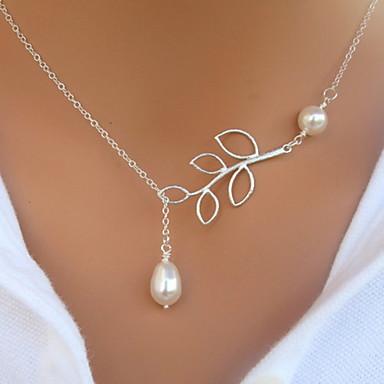 Pentru femei Perle Imitație de Perle Coliere cu Pandativ Κολιέ με Πέρλες - European Coliere Pentru Petrecere Zilnic Casual